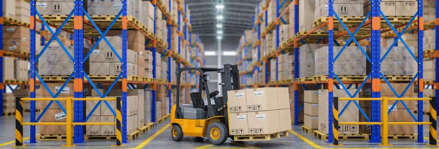 stockage et de logistique pour les entreprises